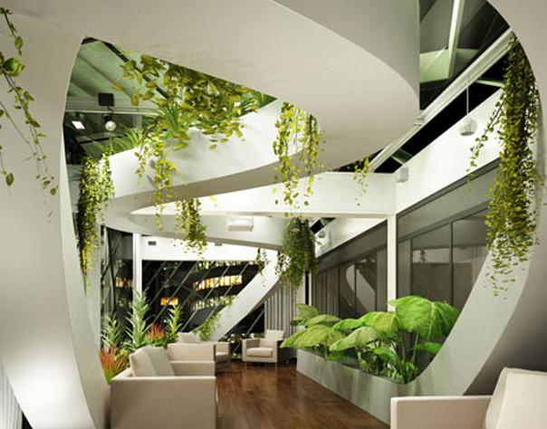 办公建筑室内设计
